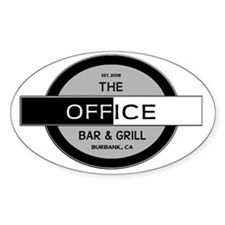 The Office Bar  Grill, Burbank, CA  Decal