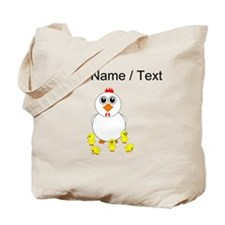 Custom Mother Hen Tote Bag