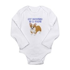 Corgi Brother Onesie Romper Suit