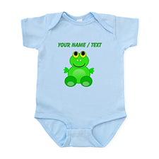 Custom Baby Frog Body Suit