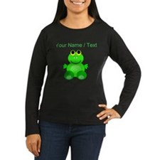 Custom Baby Frog Long Sleeve T-Shirt