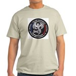 French Anti Crime Brigade Ash Grey T-Shirt