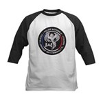 French Anti Crime Brigade Kids Baseball Jersey