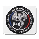French Anti Crime Brigade Mousepad