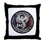 French Anti Crime Brigade Throw Pillow