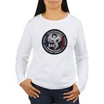 French Anti Crime Brigade Women's Long Sleeve T-Sh