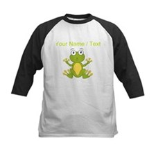 Custom Cartoon Frog Baseball Jersey