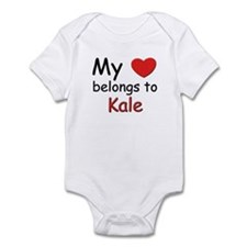 My heart belongs to kale Infant Bodysuit