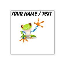 Custom Tree Frog Sticker
