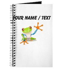 Custom Tree Frog Journal
