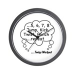 The Twins Workout Wall Clock