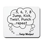 The Twins Workout Mousepad