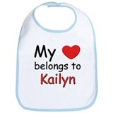 My heart belongs to kailyn Bib