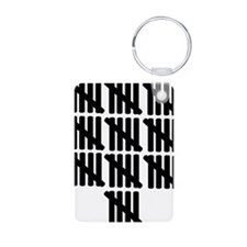 line_fifty Keychains