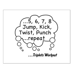 The Triplets Workout Posters
