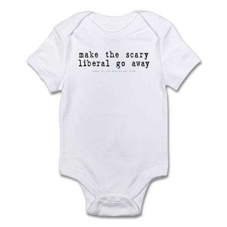 Scary Liberal Infant Bodysuit