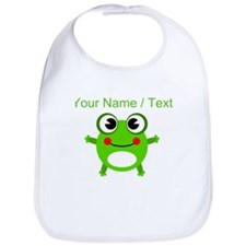 Custom Cartoon Frog Bib