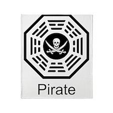 Dharma_Pirate Throw Blanket