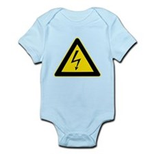 Electricity Warning Sign Body Suit