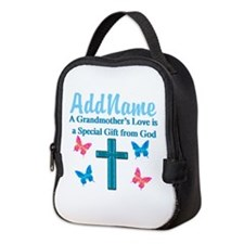 ADORING GRANDMA Neoprene Lunch Bag