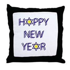 Happy New Year, Rosh Hashanah Throw Pillow