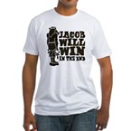 jacobstatue Fitted T-Shirt
