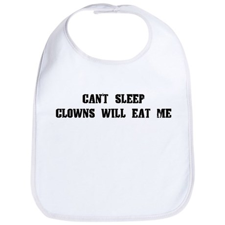 Clowns Will Eat Me Bib