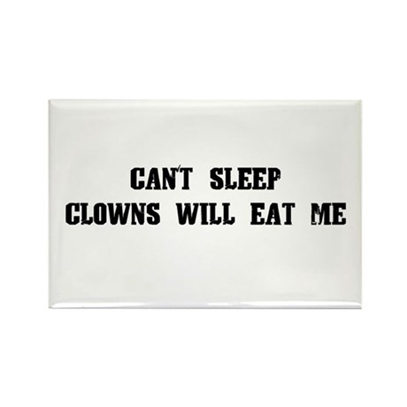 Clowns Will Eat Me Rectangle Magnet