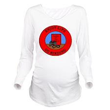 birding2 Long Sleeve Maternity T-Shirt