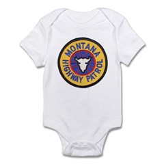 Montana Highway Patrol Infant Bodysuit