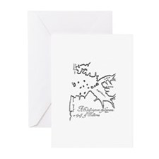 Treasure Map Greeting Cards (Pk of 10)