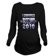blizzard-2010-2 Long Sleeve Maternity T-Shirt