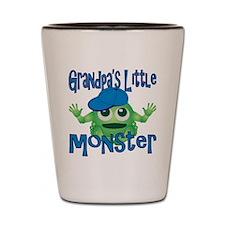 Boy Grandpas Little Monster Shot Glass