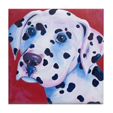 Dalmation8.511 Tile Coaster