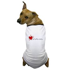 """I Love You"" [Russian] Dog T-Shirt"