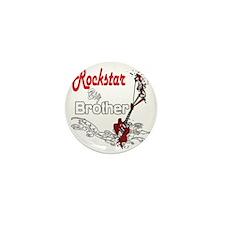 Rockstar Brother big copy Mini Button
