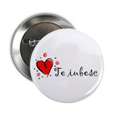 """I Love You"" [Romanian] 2.25"" Button (10 pack)"