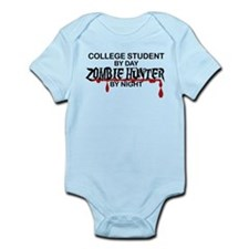 Zombie Hunter - College Student Infant Bodysuit