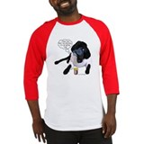 Black Lab Scientist Baseball Jersey