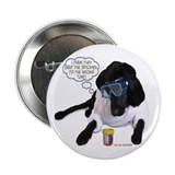 "Black Lab Scientist 2.25"" Button (100 pack)"