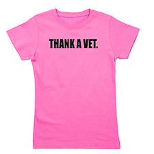 Thank a Vet Girl's Tee