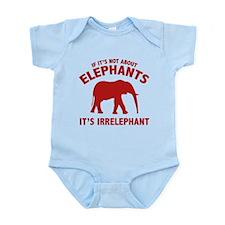 If It's Not About Elephants. It's Irrelephant. Inf