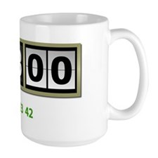Lost-108-minutes-and-numbers-(white) Coffee Mug