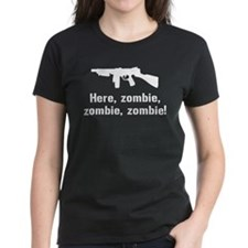 Here Zombie Zombie Zombie Gun Tee