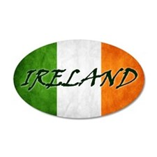 irish_flag_banner_4w Wall Decal