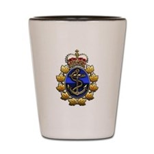 CF Naval Operations Command Logo Shot Glass