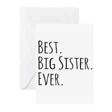 Best Big Sister Ever Greeting Cards