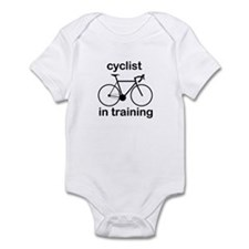 Funny Cycling Infant Bodysuit