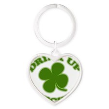drink up shadow Heart Keychain