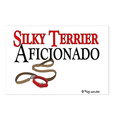 Silky Terrier Aficionado Postcards (Package of 8)
